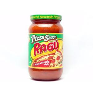 アメリカのトップブランド「ラグー」のピザソースです。塗って具材をのせるだけで本格的なピザが出来ます。...