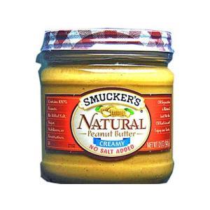 スマッカーズ ナチュラルピーナッツバター 朝食 輸入食品|kitchen-garden