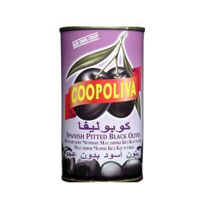 コーポリバ ブラックオリーブ 種抜き 輸入食品|kitchen-garden