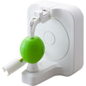 業務用ピーラーの技術をご家庭に!独自の回転刃でラクラク皮むき   従来から存在するアップルピーラーと...