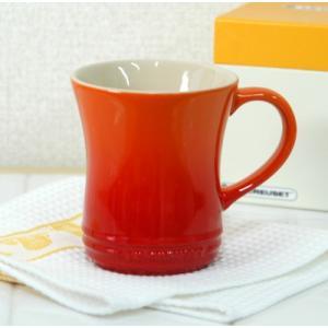 ル・クルーゼ ストーンウェア マグカップS 【ルクルーゼ LeCreuset 陶器】<オレンジ>|kitchen