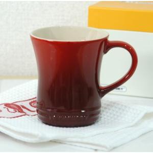 ル・クルーゼ ストーンウェア マグカップS 【ルクルーゼ LeCreuset 陶器】<チェリーレッド>|kitchen
