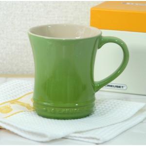 ル・クルーゼ ストーンウェア マグカップS 【ルクルーゼ LeCreuset 陶器】<フルーツグリーン>|kitchen