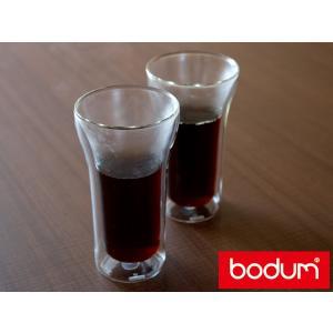 【日本正規代理店商品】ボダム アッサム ダブルウォールグラス 2個セット ( 4547-10 ) < 400mL >|kitchen