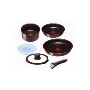 T-FAL/ティファール IHスターブラック コーテーシーセット(L81197)|kitchen