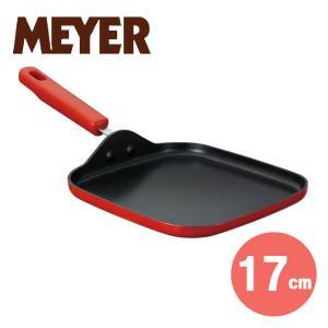 マイヤー HORO ( ホーロー )  トーストパン17センチ (レッド)( MIN2-GP17RD ) 【 MEYER フライパントースト 】|kitchen