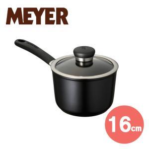 マイヤー サーキュロン ウルティマム片手鍋16cm (ブラック)( CUA-S16 ) 【 MEYER CIRCULON ULTIMUM 】|kitchen