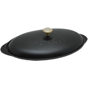【30%OFF】Staub/ストウブ フィッシュ ホットプレート(40509-400)<ブラック>|kitchen