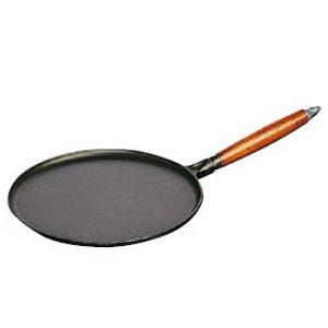 ストウブ 木柄クレープパン28cm(1212823)【 staub ストーブ 】|kitchen