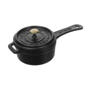 Staub/ストウブ ミニ ソースパン10(1241025)<ブラック>|kitchen