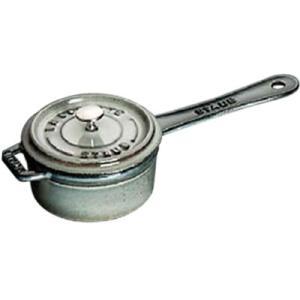 Staub/ストウブ ミニ ソースパン10(1241018)<グレー>|kitchen