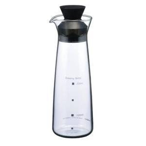 イワキ 耐熱ガラス製 ドレッシングボトル(5014-BK)【 iwaki 】|kitchen