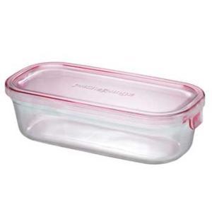 イワキ パックアンドレンジBOX(ハーフ) (ピンク)<3246N-P>|kitchen