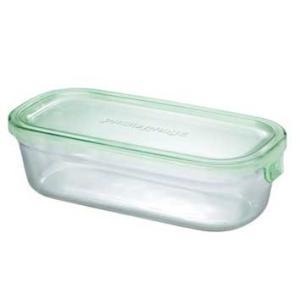 イワキ パックアンドレンジBOX(ハーフ) (グリーン)<3246N-G>|kitchen