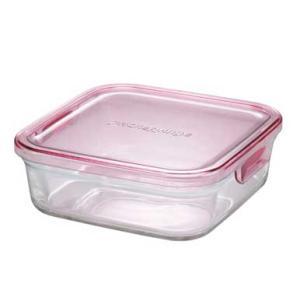 イワキ パックアンドレンジBOX(小) (ピンク)<3247N-P>|kitchen