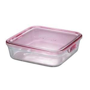 イワキ パックアンドレンジBOX(大) (ピンク)<3248N-P>|kitchen
