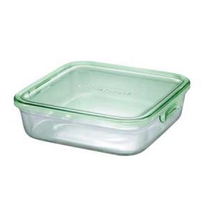 イワキ パックアンドレンジBOX(大) (グリーン)<3248N-G>|kitchen