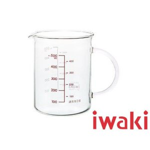 iwaki/イワキ 把手付メジャーカップ 500mL(KBT500T)|kitchen