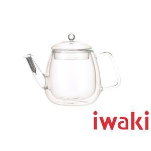 iwaki/イワキ 岡田美里 紅茶ソムリエシリーズ Airティーポット 【二重構造耐熱ガラス】(KML816)|kitchen