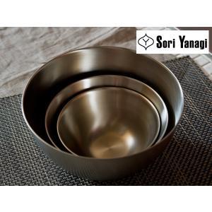 柳宗理 ステンレスボール 3個セット(16・19・23cm)【SORI YANAGI 柳 宗理】|kitchen