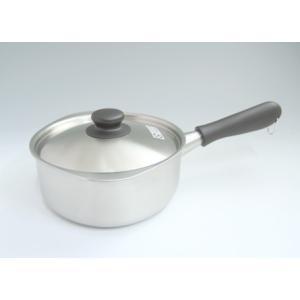 柳宗理 ステンレス 片手鍋 18cm つや消し【SORI YANAGI 柳 宗理】|kitchen