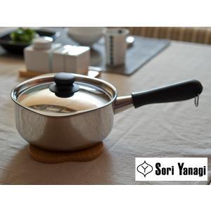 柳宗理 ステンレス 片手鍋 18cm ミラー【SORI YANAGI 柳 宗理】|kitchen
