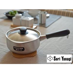柳宗理 片手鍋 ( IH対応 ) 18cm つや消し【SORI YANAGI 柳 宗理】|kitchen