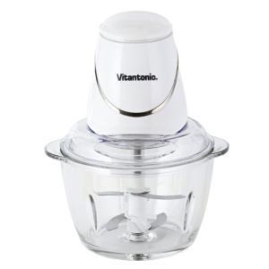 ビタントニオ ガラスチョッパー( ホワイト ) ( VCR-10 ) 【 Vitantonio スライサー カッター 】|kitchen