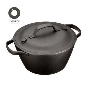 南部盛栄堂 クックトップ丸 深形(大)( CT-3 ) 【 及源鋳造 OIGEN 両手鍋 】|kitchen