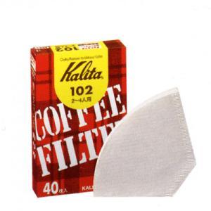 カリタ 102濾紙(ホワイト)40枚入(#13039)|kitchen