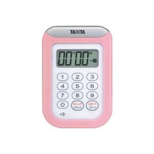 タニタ デジタルタイマー100分計 丸洗いタイマー(TD-378)<ピンク>|kitchen