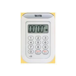 タニタ デジタルタイマー100分計 丸洗いタイマー(TD-378)<ホワイト>|kitchen
