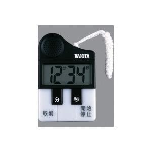 タニタ メロディータイマー(TD-382)<ブラック>|kitchen