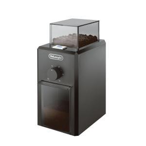 デロンギ うす式コーヒーグラインダー (ブラック)( KG79J ) 【 Delonghi コーヒーミル 】|kitchen