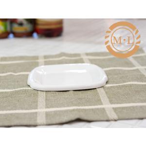 野田琺瑯 ホワイト シリーズ スクウェア M・L用 琺瑯蓋(HFS-ML)|kitchen