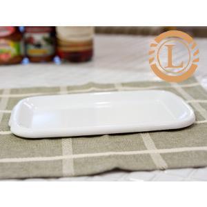 野田琺瑯 ホワイト シリーズ レクタングル深型L用 琺瑯蓋(HFF-L)|kitchen