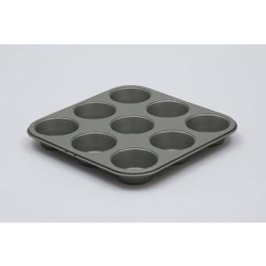 富士ホーロー ベイクウェアー マフィンカップ型(57303)<9P>|kitchen