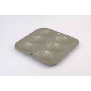 富士ホーロー ベイクウェアー マドレーヌ・シェル型(スリム)(57295)<6P>|kitchen