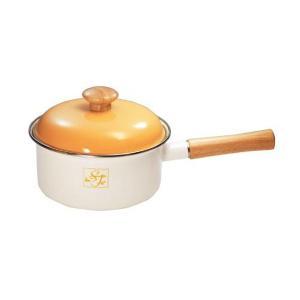 富士ホーロー Sweet Fruit/スイートフルーツ 18cm(1.8L)片手鍋(ST-18S)|kitchen