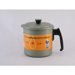 富士ホーロー  テフロン 1.2L油こし器(33139) kitchen