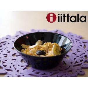 イッタラ ティーマ シリアルボウル 15cm ブラック|kitchen