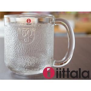 イッタラ クロウヴィ ビアマグ 500ml クリア [ iittala Krouvi ビール マグカップ オイバ・トイッカ ]|kitchen