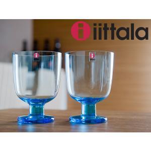 イッタラ レンピ グラス 350mL 2個セット ( 951172 ) ライトブルー|kitchen