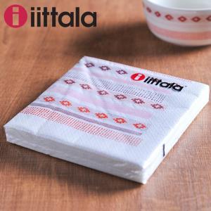イッタラ サルヤトン ペーパーナプキン 33×33cm ( 30324 ) ティッキ レッド [ iittala Sarjaton 紙ナプキン ]|kitchen
