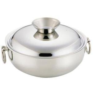 SW 電磁用 しゃぶしゃぶ鍋(ステンレスハンドルツマミ) 23cm|kitchen
