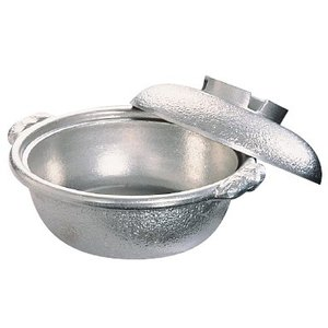 アルミ 土鍋(白仕上風) 33cm|kitchen