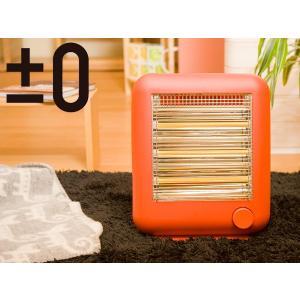 ±0/ プラマイゼロ 遠赤外線電気ストーブ スチーム機能付【プラスマイナス ゼロ】(XHS-V110(R))<レッド>|kitchen