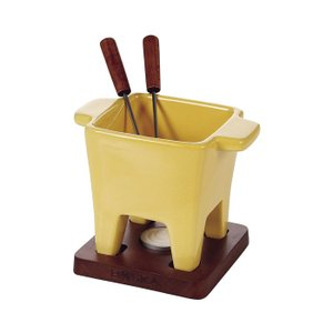 ボスカ ダッチ チーズフォンデュセット 2人用イエロー 853531 【 BOSKA 】|kitchen