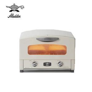 アラジン グラファイトトースター  ( ホワイト ) AET-GS13N(W) オーブントースター 食パン 2枚 遠赤グラファイト【送料無料】|kitchen