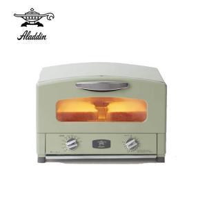 アラジン グラファイトトースター  ( グリーン ) CAT-GS13A(G) オーブントースター 食パン 2枚 遠赤グラファイト【送料無料】|kitchen